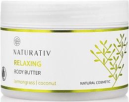 Düfte, Parfümerie und Kosmetik Glättendes Körperöl - Naturativ Relaxing Body Butter Lemongrass