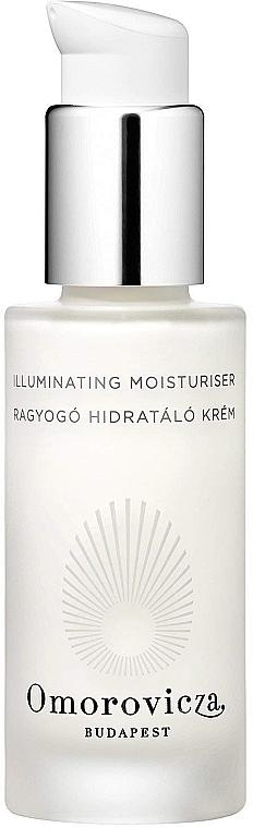 Feuchtigkeitsspendende Gesichtscreme mit Rubinkristallen für trockene und normale Haut - Omorovicza Illuminating Moisturiser