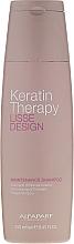 Düfte, Parfümerie und Kosmetik Shampoo mit Keratin - Alfaparf Lisse Design Keratin Therapy Maintenance Shampoo