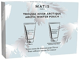 Düfte, Parfümerie und Kosmetik Gesichtspflegeset - Matis Reponse Artic Winter Pouch (Gesichtsbalsam 50ml + Gesichtsmaske 50ml)