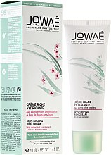 Düfte, Parfümerie und Kosmetik Reichhaltige feuchtigkeitsspendende Gesichtscreme mit antioxidativen Lumiphenolen und Sakura-Blütenwasser - Jowae Moisturizing Rich Cream