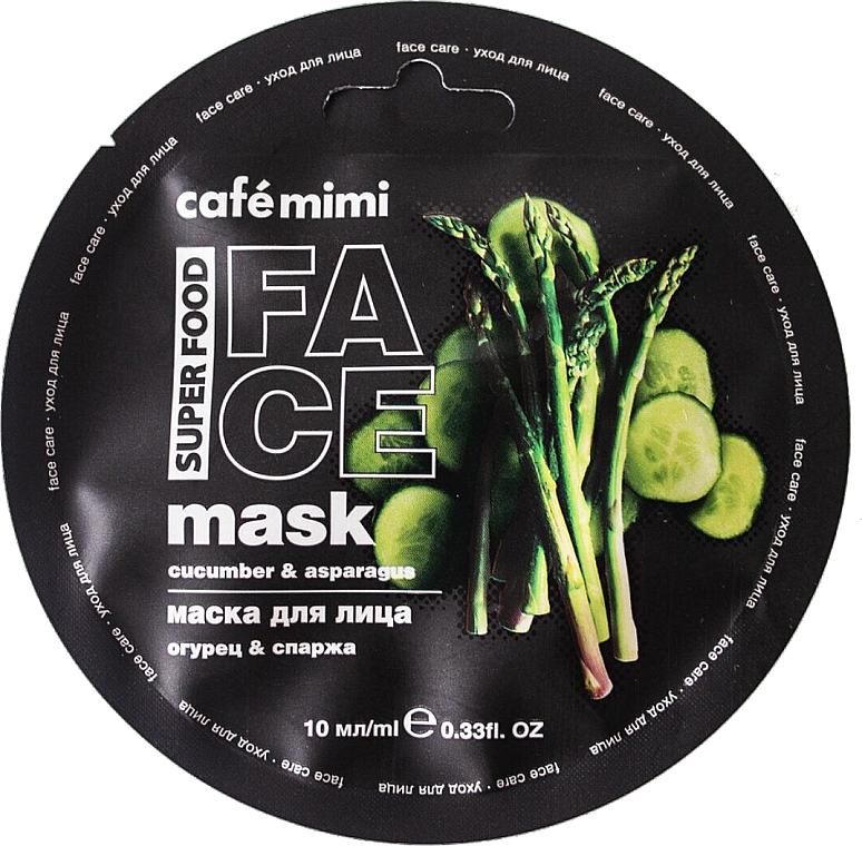 Gesichtsmaske mit Gurke und Spargel - Cafe Mimi Face Mask — Bild N1