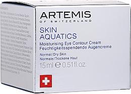 Düfte, Parfümerie und Kosmetik Feuchtigkeitsspendende Augencreme - Artemis of Switzerland Skin Aquatics Moisturising Eye Contour Cream