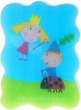 Düfte, Parfümerie und Kosmetik Kinder-Badeschwamm Ben und Holly blau - Suavipiel Ben & Holly
