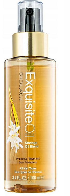 Pflegendes Moringaöl für alle Haartypen - Biolage Exquisite Oil Replenishing Treatment