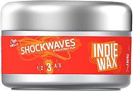 Düfte, Parfümerie und Kosmetik Haarwachs für Textur und Halt - Wella Pro ShockWaves Indie Wax