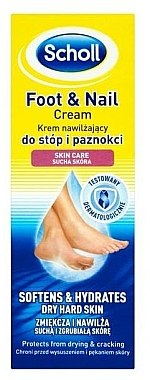 Fußcreme - Scholl Moisturizing Foot and Nail Cream