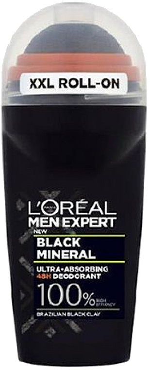 Deo Roll-on - L'Oreal Paris Men Expert Black Mineral Deo Roll-On