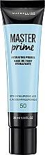 Düfte, Parfümerie und Kosmetik Feuchtigkeitsspendender Gesichtsprimer mit Hyaluronsäure - Maybelline Master Prime 50 Hydrating