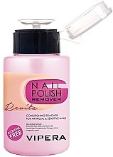 Düfte, Parfümerie und Kosmetik Nagellackentferner mit Pumpspender acetonfrei - Vipera Nail Polish Remover Revita For Artifical And Sensitive Nails