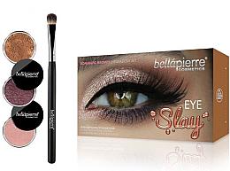 Düfte, Parfümerie und Kosmetik Lidschatten-Set - Bellapierre Eye Slay Kit Romantic Brown