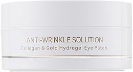 Düfte, Parfümerie und Kosmetik Hydrogel-Augenpatches gegen Falten mit Kollagen und kolloidalem Gold Standardgröße - BeauuGreen Collagen & Gold Hydrogel Eye Patch