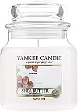 Düfte, Parfümerie und Kosmetik Duftkerze im Glas Shea Butter - Yankee Candle Shea Butter Jar