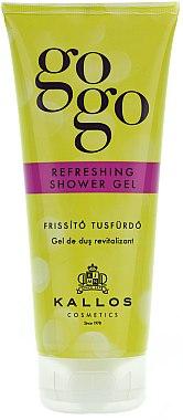 Erfrischendes Duschgel - Kallos Cosmetics Gogo Refreshing Shower Gel — Bild N1