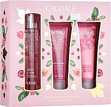 Düfte, Parfümerie und Kosmetik Caudalie Rose De Vigne - Duftset (Eau de Toilette 50ml + Duschgel 50ml + Körperlotion 50ml)