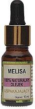 Düfte, Parfümerie und Kosmetik Beruhigendes 100% Natürliches Zitronenmelissenöl - Biomika Melisa Oil