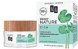 Düfte, Parfümerie und Kosmetik Feuchtigkeitsspendende und regenerierende Tages- und Nachtcreme mit Centella Asiatica - AA Enjoy Nature Cica Moisturising Regenerating Cream