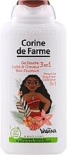 """Düfte, Parfümerie und Kosmetik Duschgel """"Moana""""3in1 - Corine de Farme Vaiana Shower Gel 3 in 1"""