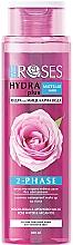 Düfte, Parfümerie und Kosmetik Zwei-Phasen Mizellenwasser mit Rosenwasser und Arganöl - Nature Of Agiva Roses Hydra Plus 2-Phase Micellar Water