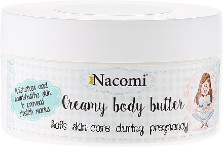 Feuchtigkeitsspendende und pflegende Körperbutter für Schwangere - Nacomi Pregnant Care Creamy Body Butter
