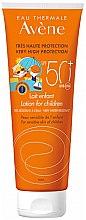 Düfte, Parfümerie und Kosmetik Wasserfeste Sonnenschutzlotion für Kinder SPF 50+ - Avene Eau Thermale Sun Lotion Children SPF50