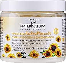 Düfte, Parfümerie und Kosmetik Regenerierende Haarmaske - MaterNatura Sunflower Seeds Restoring Mask
