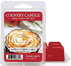 Düfte, Parfümerie und Kosmetik Duftwachs Apple Cider Cake - Country Candle Apple Cider Cake Wax Melts
