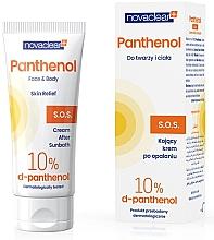 Düfte, Parfümerie und Kosmetik After Sun Creme für Gesicht und Körper mit 10% D-Panthenol - Novaclear Panthenol S.O.S Face Body Cream After Sunbath