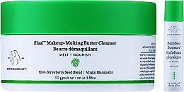 Düfte, Parfümerie und Kosmetik Gesichtspflegeset - Drunk Elephant Slaai Makeup-Melting Butter Cleanser (Gesichtsreinigungsbalsam 110g + Gesichtsbooster 3g)