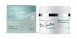 Düfte, Parfümerie und Kosmetik Intensiv revitalisierende und beruhigende Gesichtscreme-Maske - Dr. Spiller Alpenrausch Caring Cream Mask