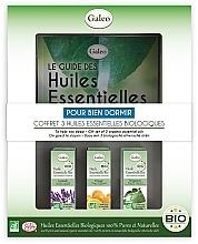 Düfte, Parfümerie und Kosmetik Set mit ätherischen Ölen für angenehmen Schlaf - Galeo To Help You Sleep Gift Set (Ätherisches Öl 3x10ml)