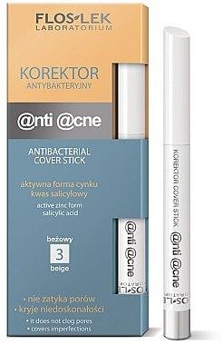 Gesichts-Concealer - FlosLek Anti Acne Program Corrector — Bild N1