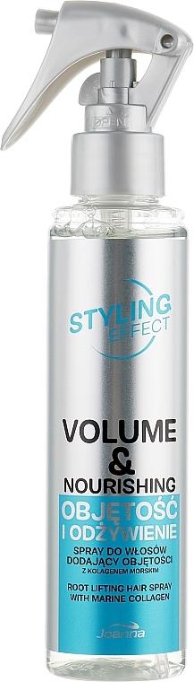 Pflegendes Volumen-Haarspray - Joanna Styling Effect Volume & Nourishing Hair Spray