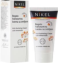 Düfte, Parfümerie und Kosmetik Feuchtigkeitsspendende Gesichtscreme mit Strohblume-Extrakt - Nikel Rich Hydrating Cream with Immortelle