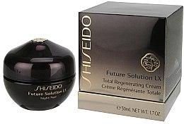 Luxuriöse intensiv regenerierende Nachtcreme - Shiseido Future Solution LX Total Regenerating Cream — Bild N2