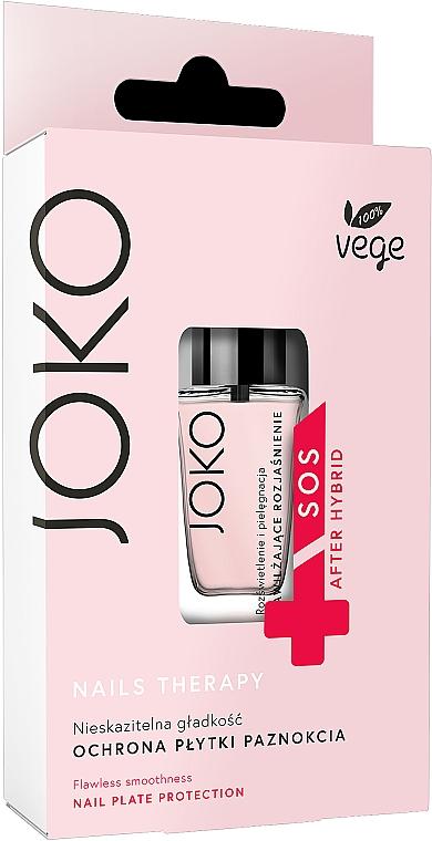 Feuchtigkeitsspendender und aufhellender Nagelconditioner - Joko Flawles Smoothness Nail Plate Protection