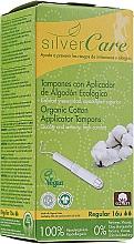 Düfte, Parfümerie und Kosmetik Tampons aus Bio-Baumwolle mit Applikator Regular 16 St. - Masmi Silver Care