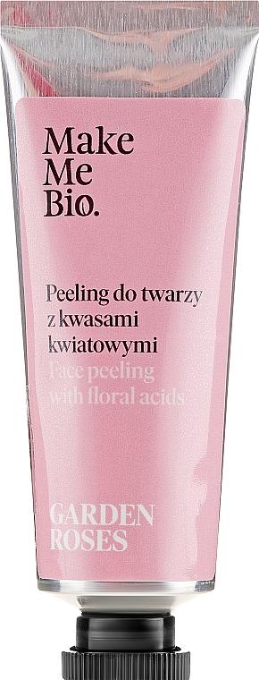 Gesichtspeeling mit Blumensäuren - Make Me Bio Garden Roses Face Peeling With Floral Acids — Bild N2