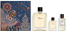 Düfte, Parfümerie und Kosmetik Hermes Terre d'Hermes - Duftset (Eau de Toilette 100ml + Eau de Toilette 12.5ml + After Shave Lotion 40ml)