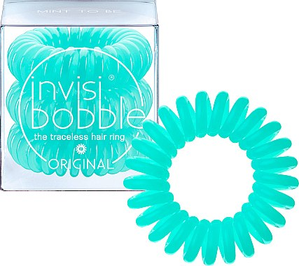 """Haargummis """"Mint To Be"""" 3 St. - Invisibobble Original Mint To Be"""