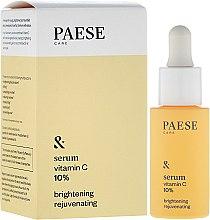 Düfte, Parfümerie und Kosmetik Gesichtsserum mit Vitamin C 10% und wertvollen Ölen - Paese Vitamin C Brightening Rejuvenating Serum