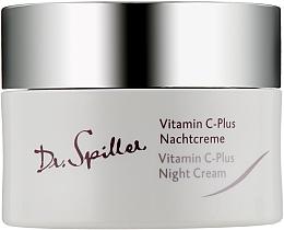 Düfte, Parfümerie und Kosmetik Gesichtscreme für die Nacht mit Vitamin C - Dr. Spiller Vitamin C-Plus Night Cream