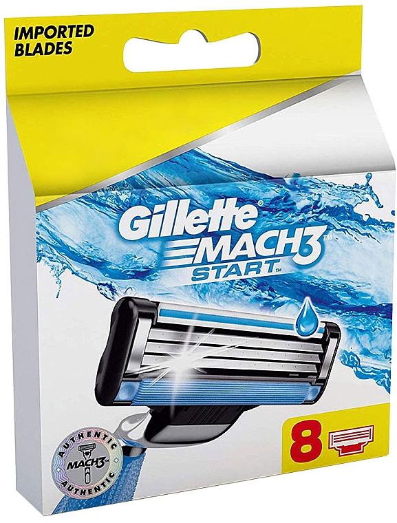 Ersatzbare Rasierklingen 8 St. - Gillette Mach3 Start