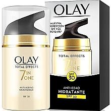 Düfte, Parfümerie und Kosmetik 7in1 Feuchtigkeitsspendende Anti-Aging Tagescreme SPF 30 - Olay Total Effects Anti-Edad Hidratante SPF30