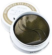 Düfte, Parfümerie und Kosmetik Hydrogel-Augenpatches mit Gold und mit schwarzen Perlen - Petitfee & Koelf Black Pearl&Gold Hydrogel Eye Patch