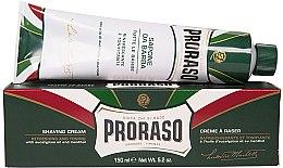 Düfte, Parfümerie und Kosmetik Rasiercreme mit Menthol und Eukalyptus - Proraso Green Shaving Cream