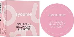 Düfte, Parfümerie und Kosmetik Feuchtigkeitsspendende und beruhigende Augenpatches mit Kollagen und Hyaluronsäure - Ayoume Collagen + Hyaluronic Eye Patch