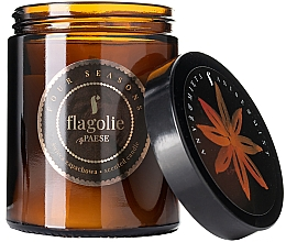 Düfte, Parfümerie und Kosmetik Duftkerze im Glas Anis & Mint - Flagolie Fragranced Candle Anis & Mint