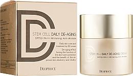 Düfte, Parfümerie und Kosmetik Anti-Aging Sonnenschutz Creme mit Stammzellen - Deoproce Stem Cell Daily-aging Cream