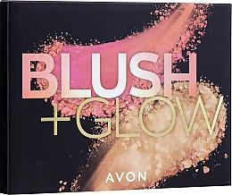 Düfte, Parfümerie und Kosmetik Rouge-, Bronzepuder- und Highlighter-Palette - Avon Blush & Glow Face Palette (22 g)